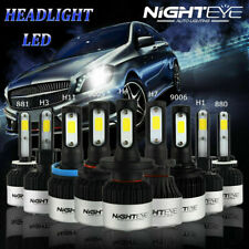 72W 9000LM LED Headlight Bulbs H1/H3/H4/H7/H8/H9/H11/9005/9006 Canbus Decoder