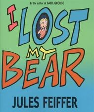 I Lost My Bear by Jules Feiffer Paperback Book (English) Free Shipping