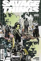 Savage Things Comic Issue 2 Modern Age First Print 2017 Jordan Moustafa Boyd
