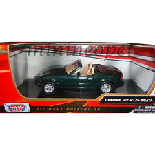 MOTORMAX 73262 MAZDA MX 5 MIATA 1/24 DIECAST MODEL CAR GREEN