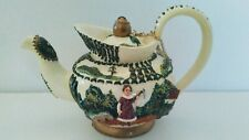 NINI Miniature Tea Pot Hand Painted Collectable New In Box FREE SHIPPING
