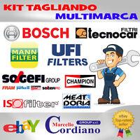 KIT TAGLIANDO FILTRI ALFA ROMEO 156 1.9 2.4 JTD JTDM + OLIO 5W40