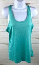 Nike Women's Dry Training Tank Top Mint Green Size Medium 648567-405 Euc A1912