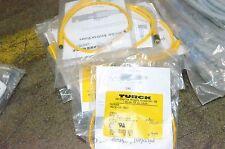 Turck 3Z-.5-Psg U2134-05 Pkg 3 Pin Female to Male Picofast Devicenet Dnet Cable