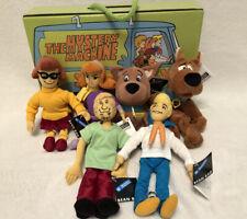 Lot Of 6~ Scooby Doo Bean Bag Plush Set In Box - Warner Bros 1999- Nwt