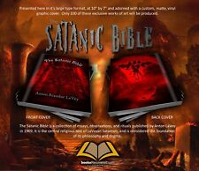 The Satanic Bible - Anton LaVey - HELL by BooksRecovered FREE SHIPPING