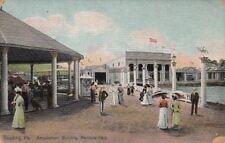Postcard Amusement Building Pendora Park Reading PA