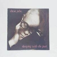 "Elton John Sleeping With The Past LP 12"" Vinyl Record Free Postage"