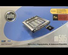 PALM m505 COLOR HANDHELD / DESKTOP ORIGINAL SEALED BOX  BRAND NEW