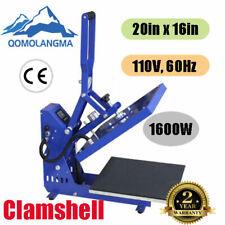 Clamshell Auto Open T Shirt Heat Press Machine 16 X 20 Horizon Version
