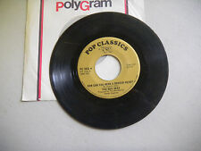 Bee Gees lonely days/how can you mend a broken heart Rso Pop Classics 45