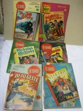 Stories By Famous Authors Illustrated Vintage Literature Comics Lot of 6  T*