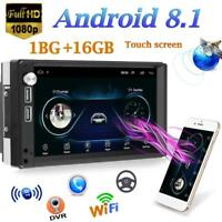 "7"" Autoradio Android 8.1 mit 2DIN GPS WIFI Bluetooth USB MP3 MP5 FM Player"