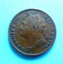 Great Britain Farting 1826 RARE KM #677,XF