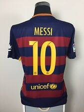 MESSI #10 Barcelona Home Football Shirt Jersey 2015/16 (L)