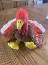 Gobbles The Turkey - Ty Beanie Baby