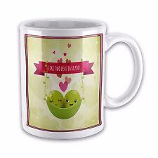 Like Two Peas In A Pod Novelty Gift Mug