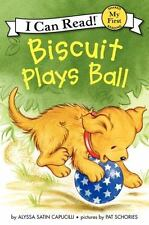 My First I Can Read: Biscuit Plays Ball by Alyssa Satin Capucilli (2012, Paperba