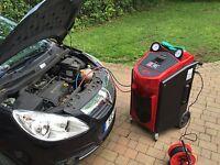 Autoregas R134a mobile car air con (Mobile service and regas) R134a