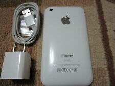 Apple iPhone 3GS-32GB-White-Black-Factory-Unlocked-Smartphone .