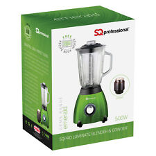 Electric Kitchen Food Smoothie Maker Mixer Blender Grinder Juicer 500W Green