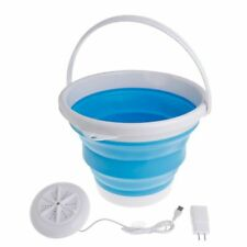 Ultrasonic Washing Machine Portable Turbine Washer USB Laundry Cleaner Travel