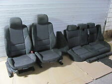 Seats Sport leather seat Alcantara Partially leather Anthracite BMW E46 Touring