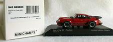 Minichamps 1/43rd Scale Porsche 911 (930) Turbo 3.3, Guards Red w/Black, 1979