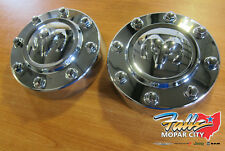 2011-2018 Dodge Ram 3500 Front Center Caps (Set of 2) New MOPAR OEM