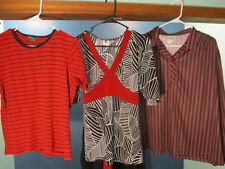 lot of THREE / 3 / women's blouses - M / XL / 22W - VAN HEUSEN / NIKKI / ING