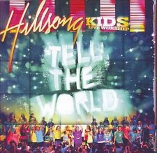 HILLSONG KIDS - LIVE WORSHIP - Tell the World - (CD-2008, Columbia (USA))-NEW