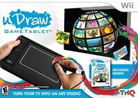uDraw Game tablet with uDraw Studio: Instant Artist - Black - Nintendo Wii
