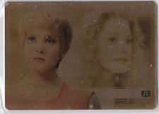 STAR TREK WOMEN OF 50TH ANNIVERSARY GOLD METAL WS19 JENNIFER LIEN AS KES