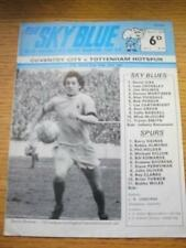 21/04/1970 fa Youth Cup Final: COVENTRY CITY YOUTH V Tottenham Hotspur Giovani [PA