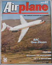 Airplane Issue 41 BAC One-Eleven poster, Grumman TBF Avenger cutaway drawing