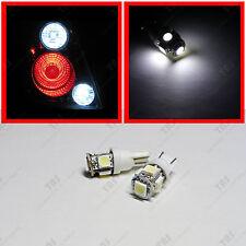 2x Back up Reverse T10 Wedge White 5-SMD LED Light Bulbs 912 168 194 Backup