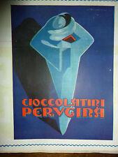 ADVERTISING PUBBLICITA' -  PERUGINA CIOCCOLATTINI  ILLUSTRATORE SENECA 1928