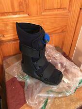Ossur Black Air Equalizer Low Top Walk Post Surgery Boot Black Rehabilitation M