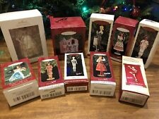 NEW Lot of 10 Hallmark Keepsake Barbie Ornaments NIB