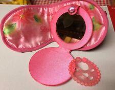 Little Girls Disney Princess Dreams Mask & Compact Mirror Play Pretend Dress-up