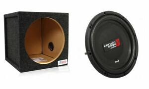 "Cerwin-Vega HS122D 250W 12"" Shallow Car Subwoofer w/ Free 12"" Single Sealed Box"