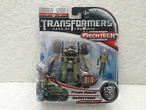 Transformers Dark Side of the Moon Private Dedcliff Sandstorm Action Figures