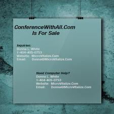 Computer Domain- ConferenceWithAll.Com Domain - .com - computers - enom