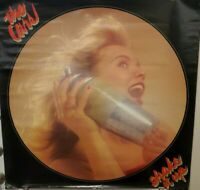 """VTG 1981 The Cars Ric Ocasek Shake It Up Record Store Promotional Poster 35"""""""