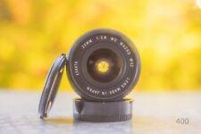 Canon FD-Exakta macro 24mm f 2.8 - fd Mount lente para cámara réflex digital puede ser adaptado