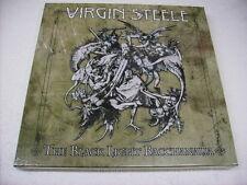 VIRGIN STEELE - THE BLACK LIGHT BACCHANALIA - 3LP BOXSET NEW SEALED 2010