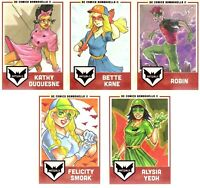 DC Comics Bombshells 2 New Covers Chase Card C9 Bombshells Annual Issue #1