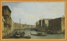 View of the Grand Canal Giovanni Antonio Canal Italien Venedig Gondel B A1 02080