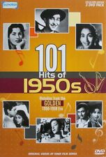 101 HITS OF 1950S - BOLLYWOOD MUSIC 3 DVD SET - FREE POST