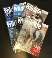 BBC Wildlife Magazine Animals Nature Conservation - Great Lot Of 6 Issues (B)